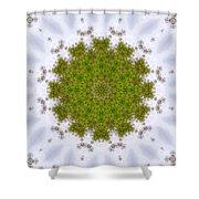 Mandala103 Shower Curtain