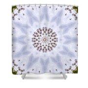 Mandala105 Shower Curtain