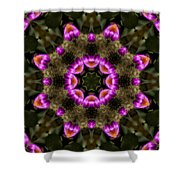 Mandala74 Shower Curtain