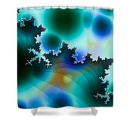 Mandelbrot Shower Curtain
