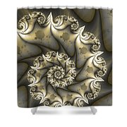 Mandelbrot Set Shower Curtain