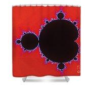 Mandelbrot Set Shower Curtain