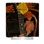 Mandolin Autumn 1 Shower Curtain