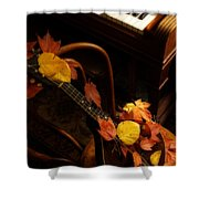 Mandolin Autumn 5 Shower Curtain
