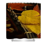 Mandolin Autumn 6 Shower Curtain