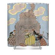 Mandoline Shower Curtain