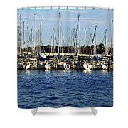 Mandarin Park Boats On Julington Creek Shower Curtain