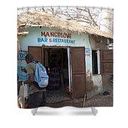 Mangrove Bar And Restaurant Shower Curtain