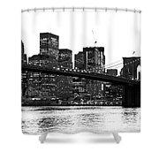 Manhattan 1 Shower Curtain