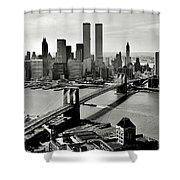 Manhattan 1978 Shower Curtain