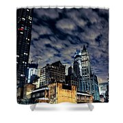 Manhattan Bound Version A Shower Curtain