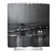 Manhattan Bridge - New York City Shower Curtain