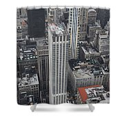 Manhattan City Canyons Shower Curtain