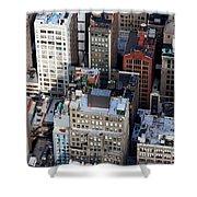 Manhattan From Above Shower Curtain