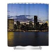 Manhattan From Gantry Shower Curtain