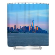 Manhattan In The Morning Shower Curtain
