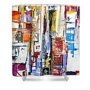 Manhattan Morning Shower Curtain