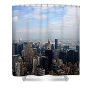 Manhattan Overview Shower Curtain