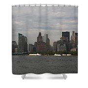 Manhattan Skyline 2010 Shower Curtain