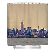 Manhattan Skyline Shower Curtain