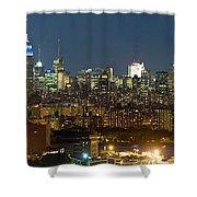 Manhattan Skyline, New York City, New Shower Curtain
