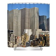 Manhattan Urban Jungle Shower Curtain