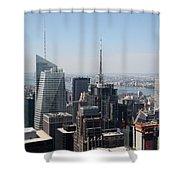Manhattan View 2012 Shower Curtain