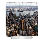 Manhattan View Towards Brooklyn Shower Curtain