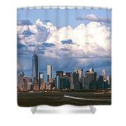 Manhattanincloudbank Shower Curtain