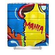 Mania Shower Curtain
