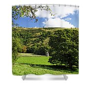 Manifold Valley And Dovecote - Swainsley Shower Curtain
