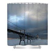 Manistee Lighthouse 7 Shower Curtain