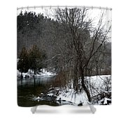 Manistee River Shower Curtain