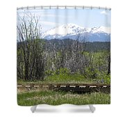Lake Manitou Sp Woodland Park Co Shower Curtain