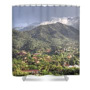 Manitou To The South I Shower Curtain