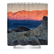 Manly Dawn Shower Curtain