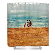 Manly Seashore Sydney Shower Curtain