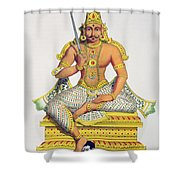 Mannarsouvami, Engraved By De Motte Shower Curtain