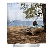 Mano Larga Shower Curtain