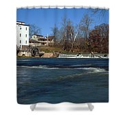 Mansfield Mill Shower Curtain