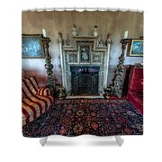 Mansion Sitting Room Shower Curtain
