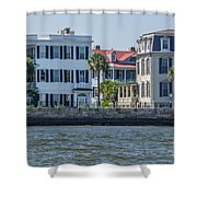 Mansions By The Water Shower Curtain