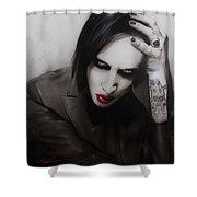 Manson II Shower Curtain