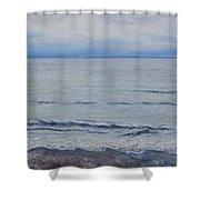 Manx Mist Shower Curtain