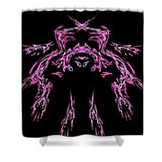 Many Hands Shower Curtain