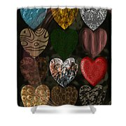 Many Types Of Love Shower Curtain