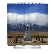 Manzanar National Historic Site Shower Curtain