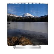 Manzanita Winter Beauty Shower Curtain