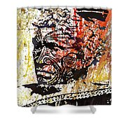 Maori Warrior 1 Shower Curtain