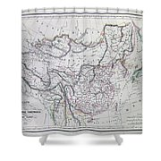 Map Of China And Japan Shower Curtain